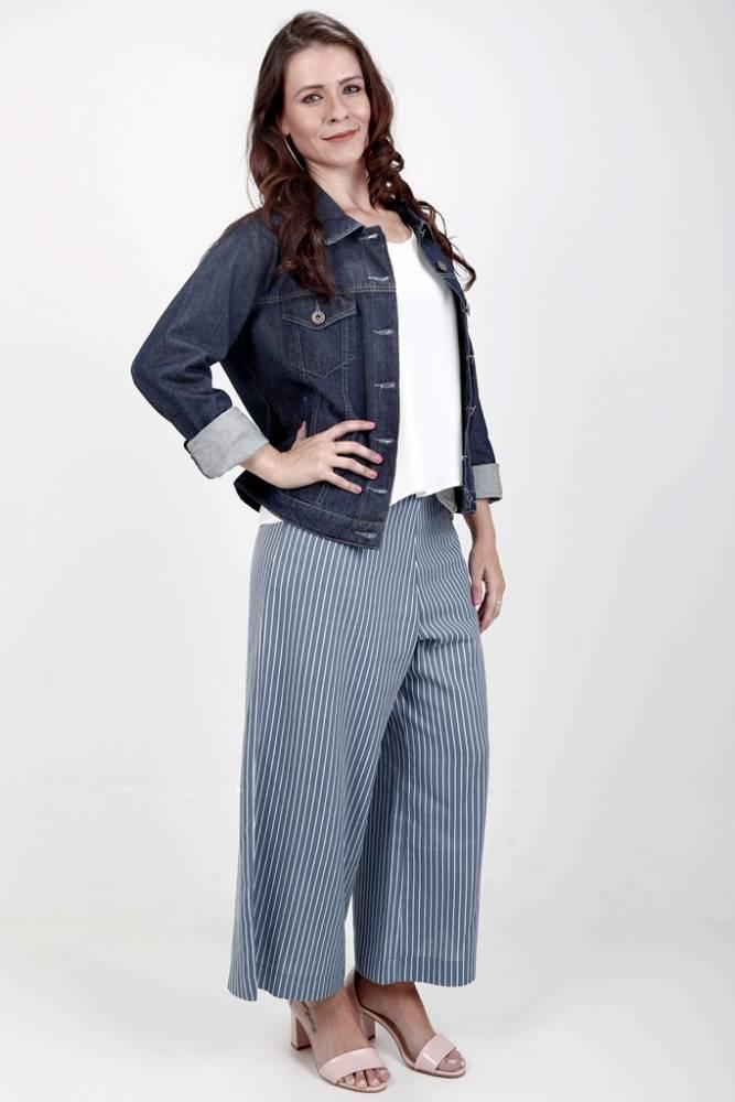 jaqueta feminina jeans classica
