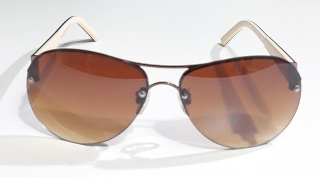 Óculos de sol aviador feminino sem aro - e-dress