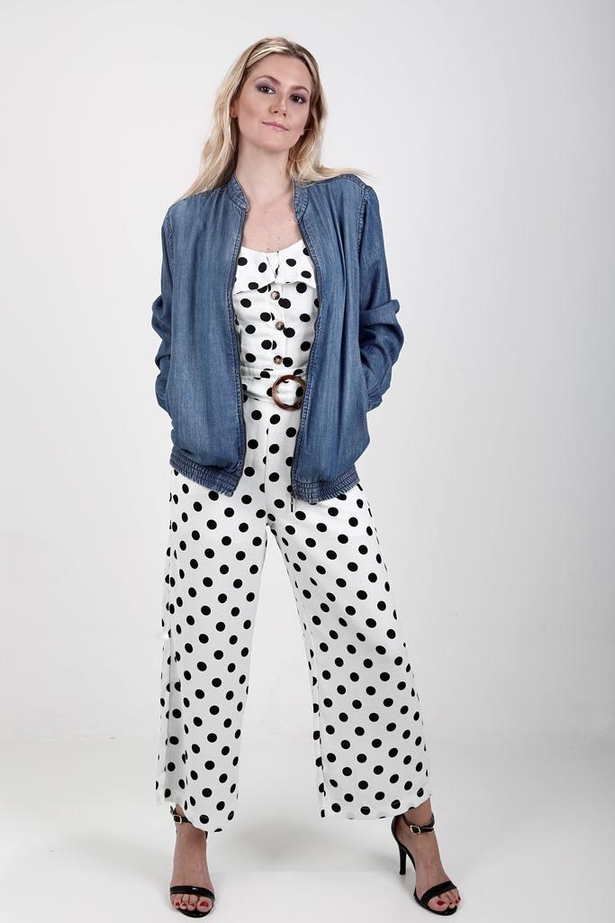 jaqueta jeans feminina bomber