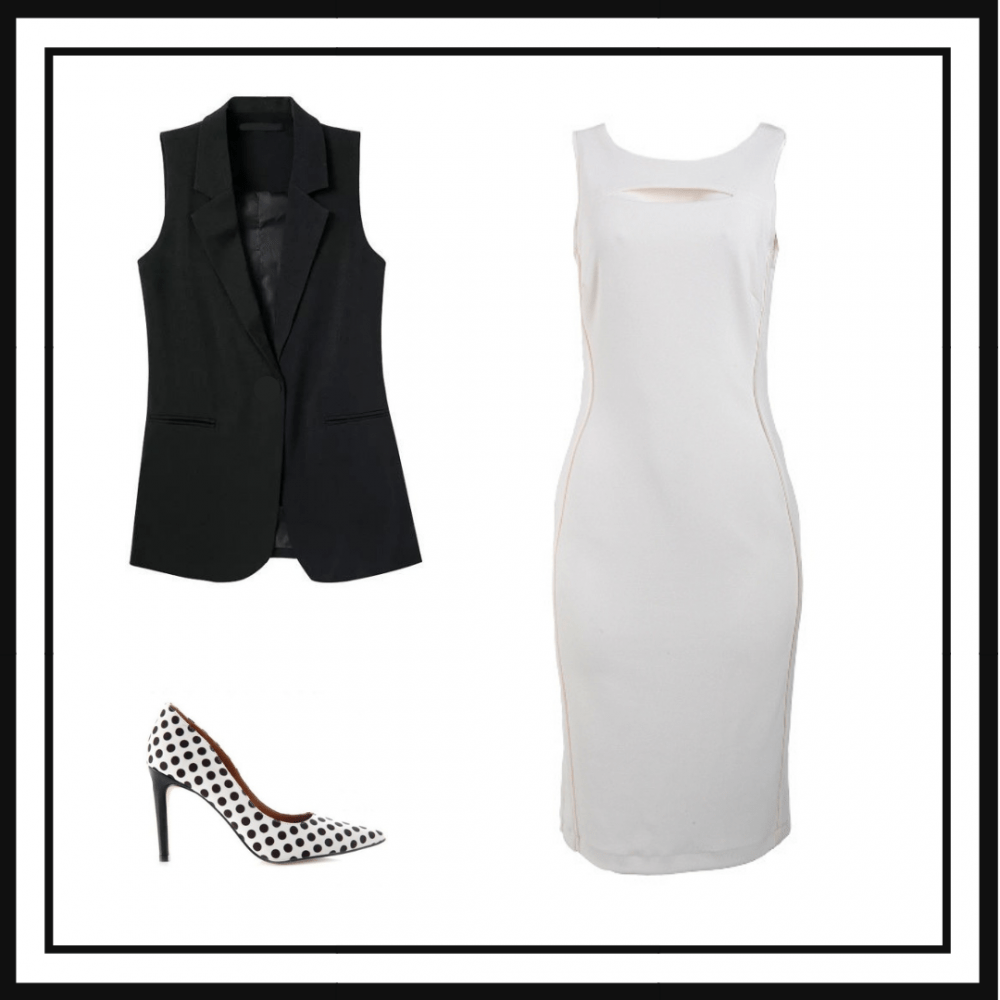 Look Completo Black and White