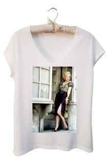 t shirt feminina Marilyn