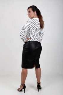 blusa feminina listrada