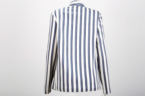 blazer feminino listrado