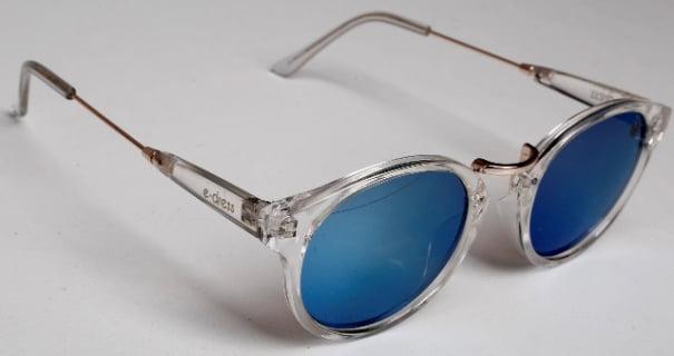 Óculos de sol feminino redondo - e-dress