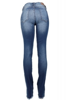 calça jeans slim feminina