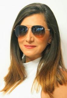 Óculos de Sol Feminino Estilo Aviador - Compre sem sair de casa !