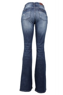 Calça Jeans Flare Cintura Alta - Compre sem sai de casa!