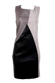 vestido curto tubinho