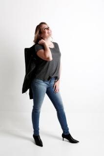 calça jeans skinny feminina Equus